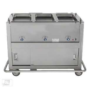 Duke EP 3 CBSS 3 Well Portable Electric Steam Table