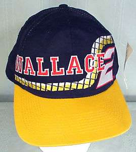 COMPETITORS VIEW RUSTY WALLACE / MILLER BREWING #2 CAP