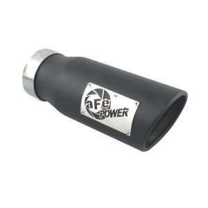 aFe Filters 49 92011 MachForce XP Exhaust SS 304 Tip Exh Black 3.5in