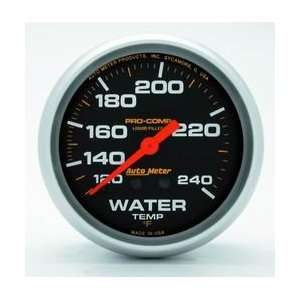 Auto Meter 5433 Mechanical Liquid Water Temperature Gauge