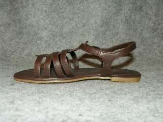faded glory girl s sandals color brown style april 12 toddler 13 youth