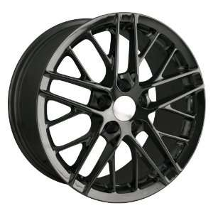 Detroit Style 845 (Black) Wheels/Rims 5x120.7 (845 9161B) Automotive
