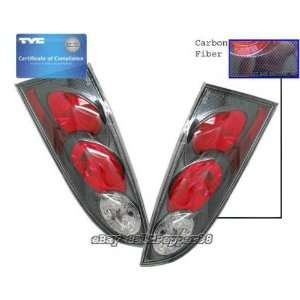 Ford Focus ZX5 Tail Lights Euro Carbon Taillights 2000 2001 2002 2003