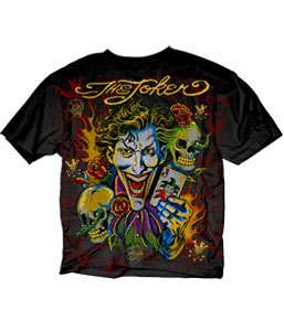 DC Comics Tee Batman Dark Knight Joker T Shirt S 2XL