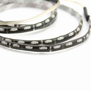 60cm Side View 60 SMD 3014 LED Strip Rope Light White