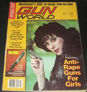 Gun World Magazine July 1980