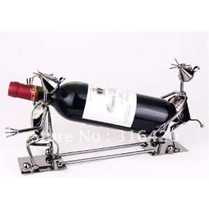 two mice carried red wine rack interest high end tastes fashionable
