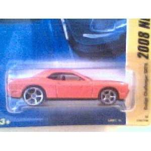Wheels 2008 New Models 164 Scale Burnt Orange Dodge Challenger SRT8