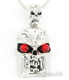 8GB Mini Metal Skull Shape USB 2.0 Flash Drive   A002