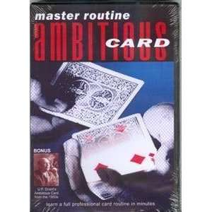 GRANT, Ambitious Card   Instructional Magic Trick Toys