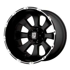 20x9 KMC XD Armour (Matte Black / Machined) Wheels/Rims