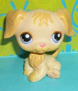 Littlest Pet Shop~#268 GOLDEN RETRIEVER PUPPY Dog~H150
