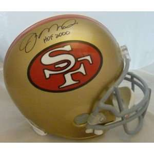 Joe Montana Signed San Francisco 49ers Full Size Helmet