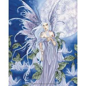 Blue Bell Moon Fairy Sticker by Amy Brown Automotive