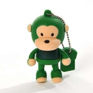 Baby Milo Ape Cartoon Design Rubber 4GB USB Memory Flash