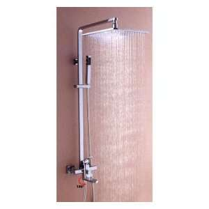 Factory drop ship Chrome Wall mount Tub / Shower Faucet With 10 inch