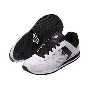 Fox Racing Scrapper Shoe White/Black 10.5 Automotive
