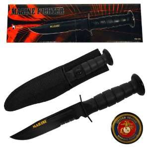 United States Marine Corps MARINE FIGHTER Knife Sports