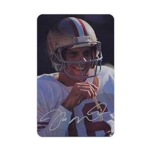Collectible Phone Card Joe Montana Super Bowl Series Complete Set of