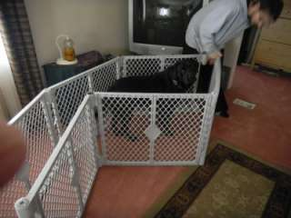 States Superyard Classic XT Gate Play Yard for kids or pets