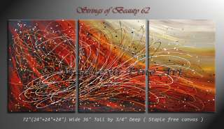 Abstract modern Paintings Red Contemporary Art Gallery by Maitreyii