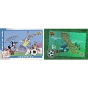 1994 World Cup Toons Soccer Cards Box Toys & Games