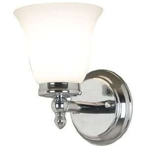 Kenroy Home Cairo Wall Sconce with Chrome Finish