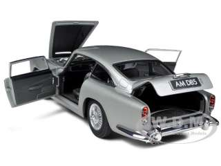 ASTON MARTIN DB5 SILVER 1/18 DIECAST MODEL CAR BY AUTOART 70211