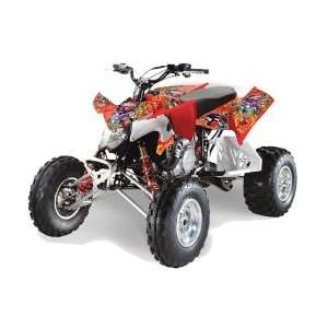 Racing Polaris Outlaw 450 500 525 2009 2011 ATV Quad Graphic Kit