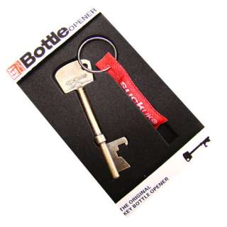Package1*Copper Red Key Shaped Metal Bottle Opener Cilp Keychain