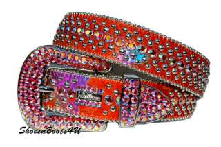 simon SWAROVSKI CRYSTAL BELT BB 42 NEW $340