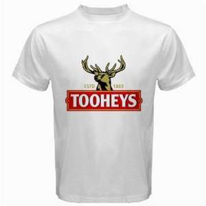 Tooheys Beer Logo New White T Shirt Size  2XL