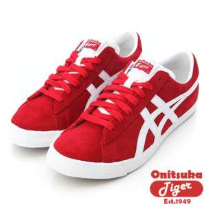 Asics Onitsuka Tiger FABRE BL S OG RED/WHT Shoes #T45