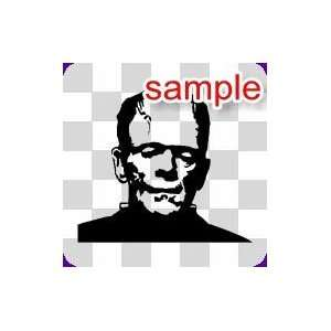 PEOPLE FRANKENSTEIN 10 WHITE VINYL DECAL STICKER