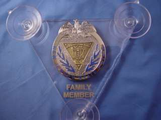 NEW JERSEY STATE POLICE CAR SHEILDS, FAMILY MEMBER 3