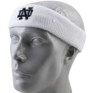 adidas Notre Dame Fighting Irish White Basic Logo Headband