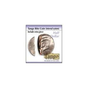 Biting coin Half Dollar internal w/extra piece from Tango