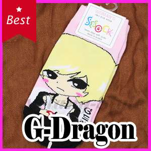 POP Idol BIGBANG G Dragon Character Socks * KPOP