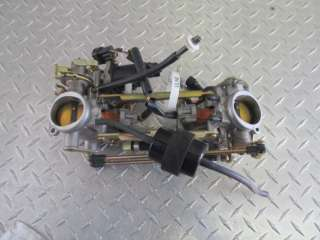 2005 SUZUKI SV650S SV 650 S SV650 FUEL INJECTED THROTTLE BODIES