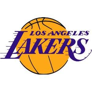 LA Los Angeles Lakers NBA Sticker Decal Auto Car 9X5.5