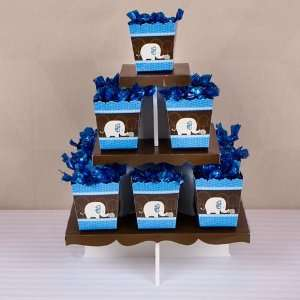 Blue Baby Elephant   Candy Stand & 13 Fill Your Own Candy