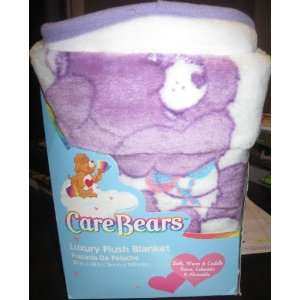 CARE BEARS LUXURY PLUSH BLANKET (30 X 43)