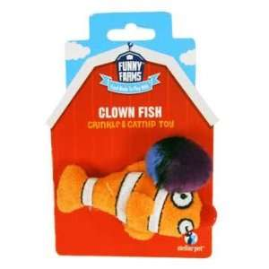 Top Quality Clown Fish Catnip Toy