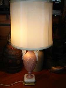 1930s Vintage DAVART Co. New York Porcelain Lenox Art Deco Table Lamp
