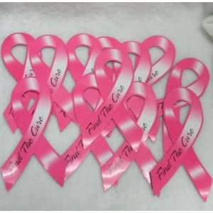 Lot Of 12 Breast Cancer Awareness Ribbon Car Magnets