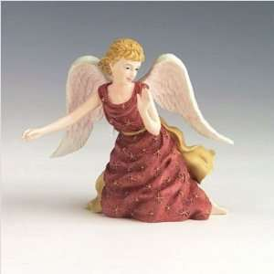 Pipka Santas 30021 Good Tidings Christmas Angel Figurine