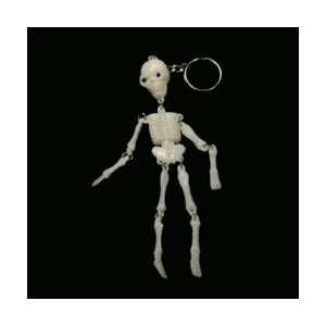 Skeleton Keyring   Halloween Prop Patio, Lawn & Garden