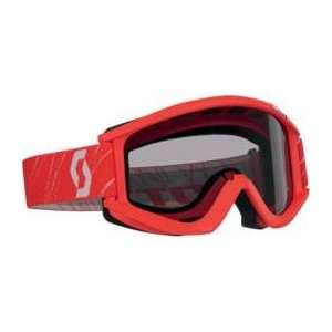 Scott USA Recoil Sand Goggles , Color Red 2177990004119