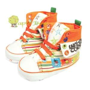 Toddler Baby Boy Girl shoes Trainer Prewalker (E57)size 6 15M