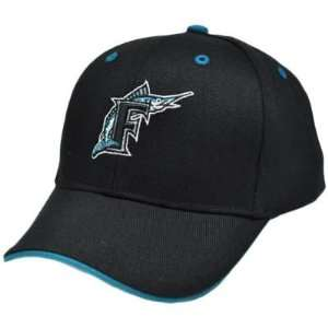 Miami Florida Marlins Youth Kids Black Teal Blue Constructed License